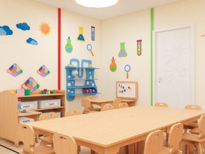 öğrenme Merkezli Sınıf, Anaokulu Sınıf Konsepti, Anaokulu Mobilyası, Montessori Mobilyası