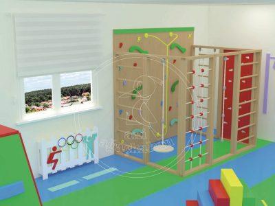 Anaokulu Fabrikası - Iç Mekan Oyun Ve Aktivite Alanı, Tırmanma Parkurları