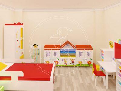 Ev Çocuk Oyun Odası Mobilyası